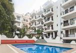 Location vacances Vagator - Pleasant 1-Br apartment with a pool, 900 m from Chapora beach/60500-1