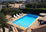Location vacances Bizanet - Modern Villa in Narbonne with Swimming Pool-1