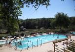 Camping avec Piscine couverte / chauffée Parcoul - Domaine de L'Étang de Bazange-4