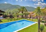 Location vacances Sant Miquel de Campmajor - Pujarnol Villa Sleeps 12 with Pool and Air Con-1