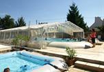 Camping avec Piscine couverte / chauffée Muides-sur-Loire - Touristique de Gien - Camping Sites et Paysages-1
