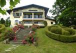 Hôtel Bord de mer d'Urrugne - Villa La Croix Basque-3