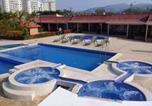 Location vacances Jacó - Casa amoblada en condominio en Jacó para 6 personas a 100 metros de la playa-1