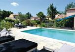 Location vacances Saint-Vallier-de-Thiey - Holiday home Saint Cézaire s/Siagne 26 with Outdoor Swimmingpool-3