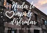 Location vacances Xunqueira de Espadanedo - Casa Grande de Cristosende-4