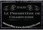 Hôtel Saint-Pierre-Canivet - B&B Le Presbytère de Champcerie-1