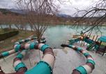 Camping avec WIFI Piégros-la-Clastre - Camping le Lac Bleu-4