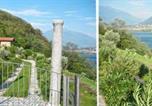 Location vacances  Province de Lecco - Rustico Ulivi - Ferienhaus in Colico Bucht Piona-1