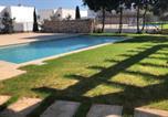 Location vacances Sant Lluís - Villa Biniblanc con jardin y piscina privada-4