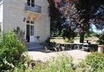 Location vacances Linières-Bouton - L'Orangerie du Château - Gîte Art Nouveau-4