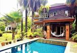 Location vacances Chalong - Palm Villa And Pool-1