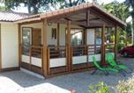 Location vacances Soustons - Chalet avec piscine-1