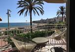 Location vacances Sant Cebria de Vallalta - Apartamento Primera Linea de Mar con Espectaculares Vistas-1