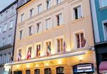 Hôtel Biergarten - Hotel Deutsche Eiche-1