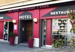 Hôtel Sainte-Eulalie-de-Cernon - Hotel Restaurant L'Etape-2