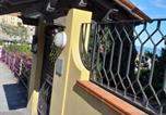 Location vacances Ventimiglia - 2 room apartement with big terrace & own car parking above Monaco port in Flower Riviera 5km from Cote d'Azur-4