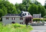 Hôtel Lurbe-Saint-Christau - Le Moulin d'Eysus Chambre familiale &quote;L'écho du Gave&quote;-1