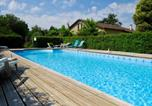 Location vacances Uzeste - Apartment with 2 bedrooms in Blaignac with shared pool furnished garden and Wifi-4