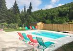 Location vacances Burzet - Modern Villa in Thueyts with Swimming Pool-2