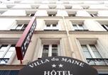Hôtel Paris - Villa Du Maine-4