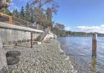 Location vacances Port Orchard - Poulsbo Waterfront House with Fire Pit on Liberty Bay-4