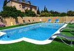 Location vacances Almoster - Villa with 6 bedrooms in Reus with private pool enclosed garden and Wifi 4 km from the beach-1