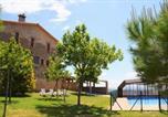 Location vacances Gironella - Villa in Casserres Sleeps 15 includes Swimming pool-3
