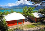 Camping Hautes-Alpes - Campéole Baie de la Chapelle-1