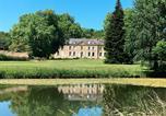 Camping avec Piscine couverte / chauffée Ambrières-les-Vallées - Les Castels Château de Chanteloup-3