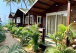 Hôtel Canacona - Roundcube Beach Bungalows-4