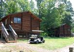 Villages vacances Pineville - Forest Lake Camping Resort Cabin 14-1