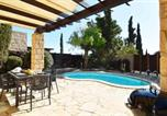 Location vacances Kouklia - Villa Latsia (Hg36), lovely villa with private kidney pool and roof terrace-2