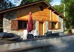 Location vacances Hèches - Chalet Le Fario, Bain nordique-1