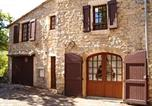Location vacances Saint-Georges-de-Luzençon - House with 2 bedrooms in Mostuejouls with wonderful mountain view-1