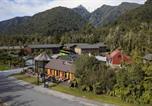 Villages vacances Fox Glacier - Rainforest Retreat-1