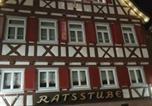 Hôtel Bad Liebenzell - Hotel-Restaurant Ratsstube-3