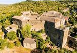 Hôtel Duilhac-sous-Peyrepertuse - Gites Le Roc sur l'Orbieu-1