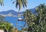 Hôtel Ilhabela - Encantos Do Mar Casa com vista para mar no Siruiba-3