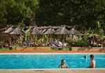 Camping avec Piscine couverte / chauffée Gréoux-les-Bains - Camping Verdon Parc -1