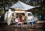 Camping avec Hébergements insolites Landes - Huttopia Landes Sud-2