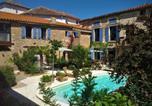 Hôtel Pouzols-Minervois - Logement Onze Chambres & Gîtes-1