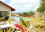 Location vacances  Antilles néerlandaises - Modern Villa with Swimming Pool in Willemstad-2
