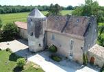 Hôtel Saint-Simon-de-Pellouaille - B&B Château de Pernan-1