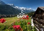 Hôtel 4 étoiles Pied des pistes Les Houches - Les Balcons du Savoy-1