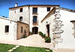 Location vacances Igualada - Countryside Mansion in La Llacuna with Private Pool-2