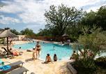 Camping avec Piscine couverte / chauffée Chastanier - Domaine des Chênes-2