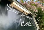 Hôtel Norrköping - Skogsvikens Hotell-4