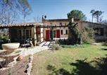 Location vacances Montauroux - Three-Bedroom Holiday home Callian with a Fireplace 01-2
