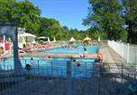 Camping avec Site nature Ustou - Camping Audinac les Bains-3