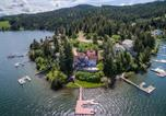Location vacances Moscow - Lakefront Home with Pvt Dock in Coeur d'Alene Area!-3